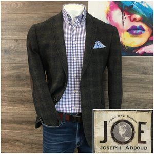 Joseph Abboud Slim Sport Coat Blazer 2 Button Wool